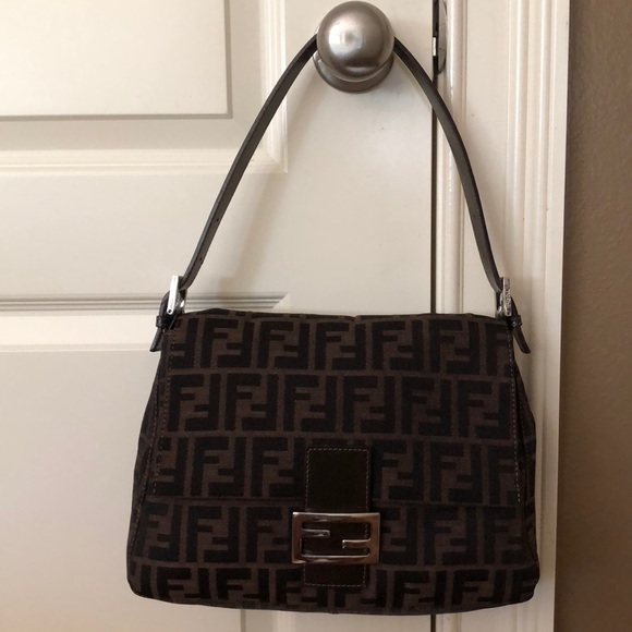 7eb341dde1af Fendi Handbags - Authentic Fendi Zucca Mama Bag